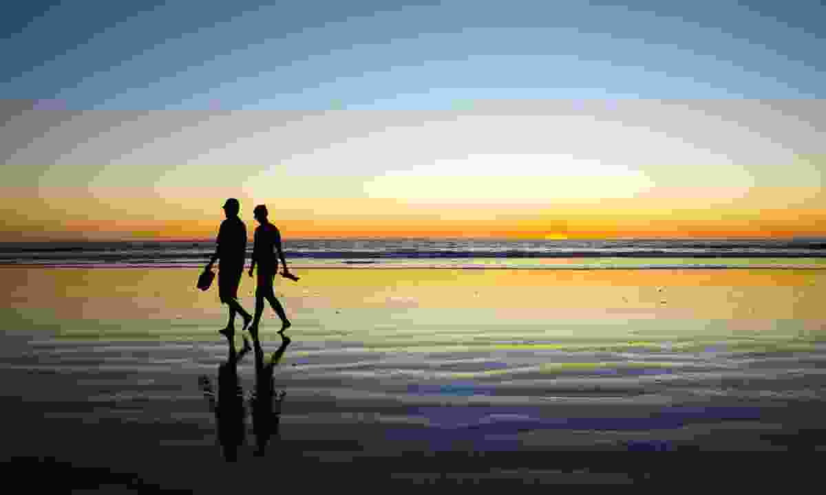 Sunset on Cable Beach Broome (Dreamstime)