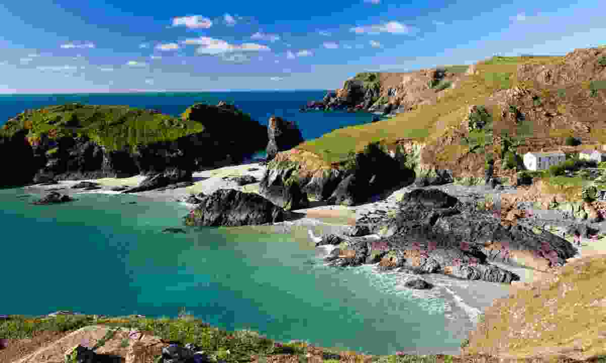 Kynance Cove on the Lizard Peninsula (Dreamstime)
