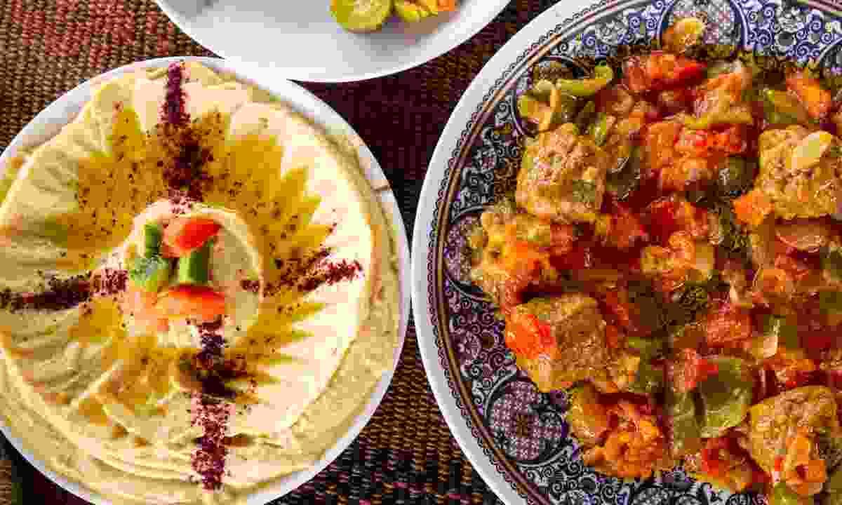 A Jordanian feast (Dreamstime)