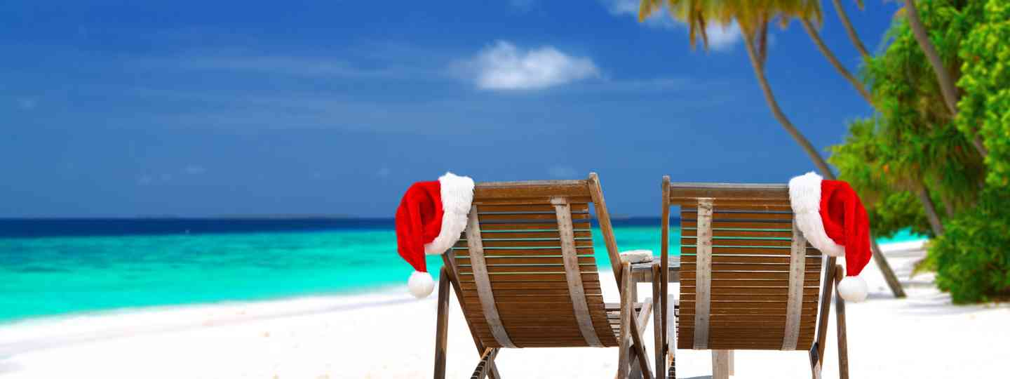 Christmas on a beach (Dreamstime)
