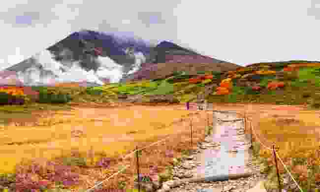 Asahidake Mountain in Daisetsuzan National Park, Japan (Shutterstock)