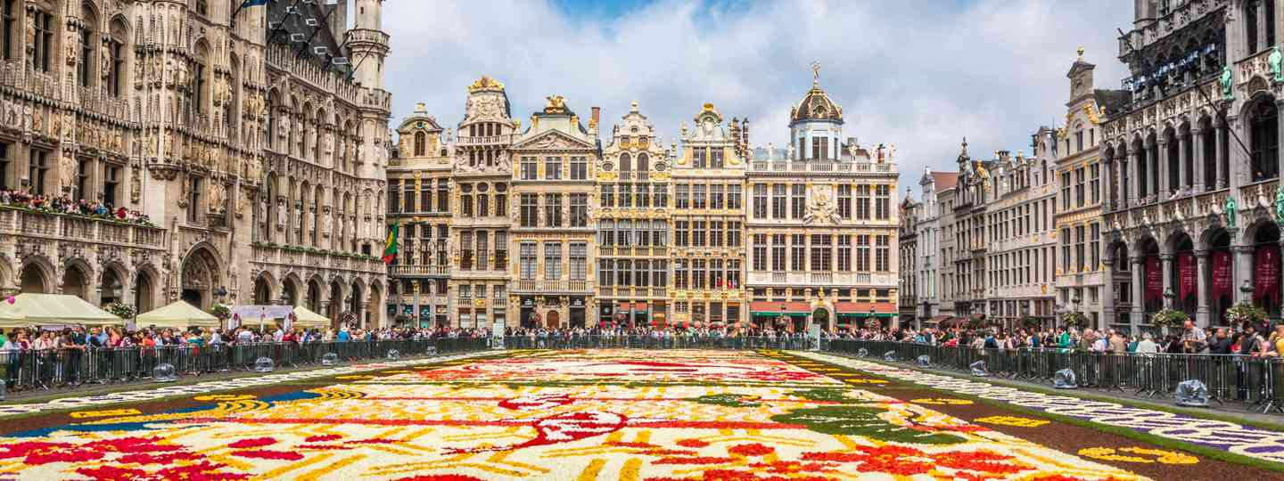 Grand Place flower carpet (Dreamtime)