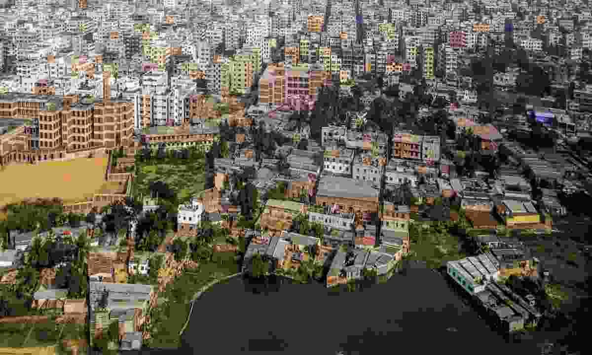 Aerial view of Dhaka, Bangladesh (Dreamstime)