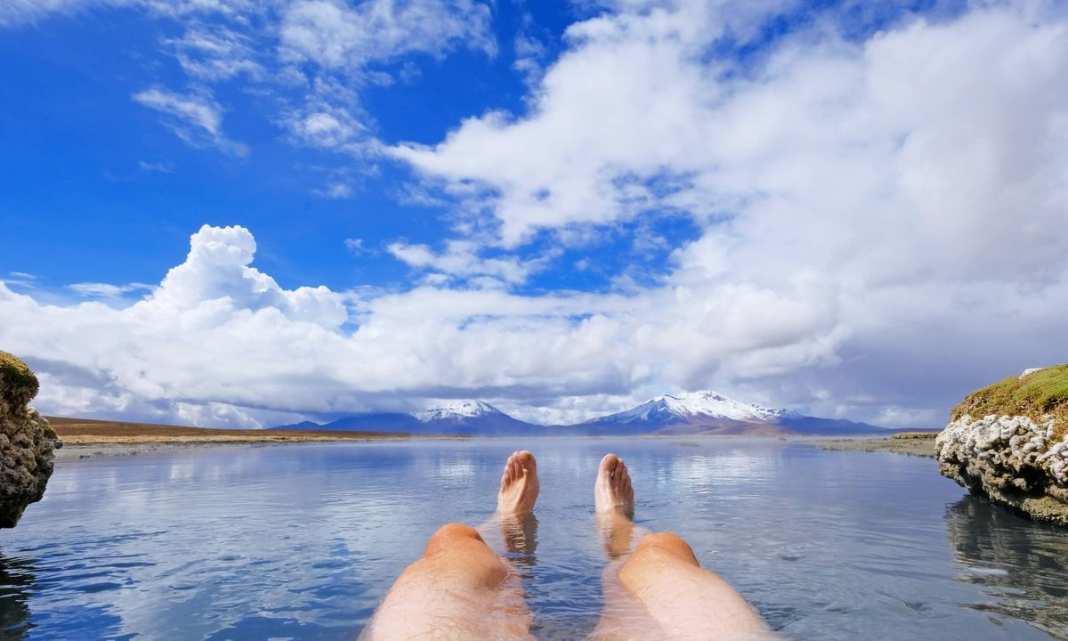 Unwind in one of Chile's many hot springs (Dreamstime)