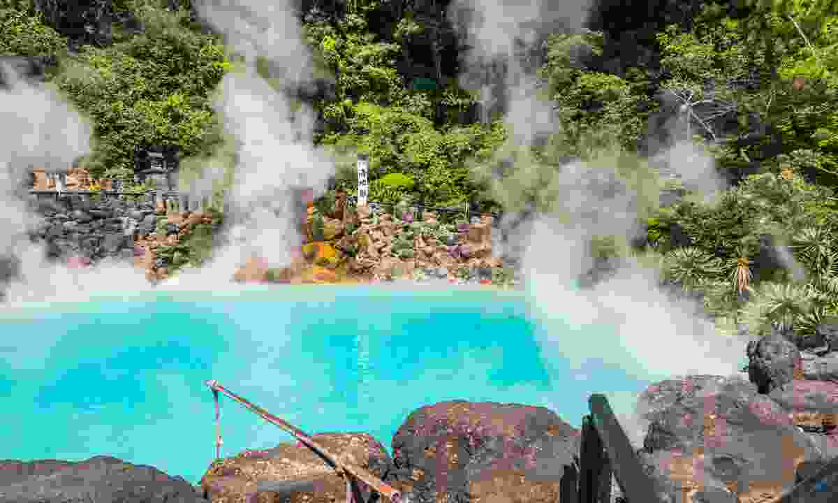 A hot spring in Beppu, Oita (Dreamstime)