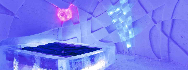 Ice hotel, Sweden (Dreamstime)