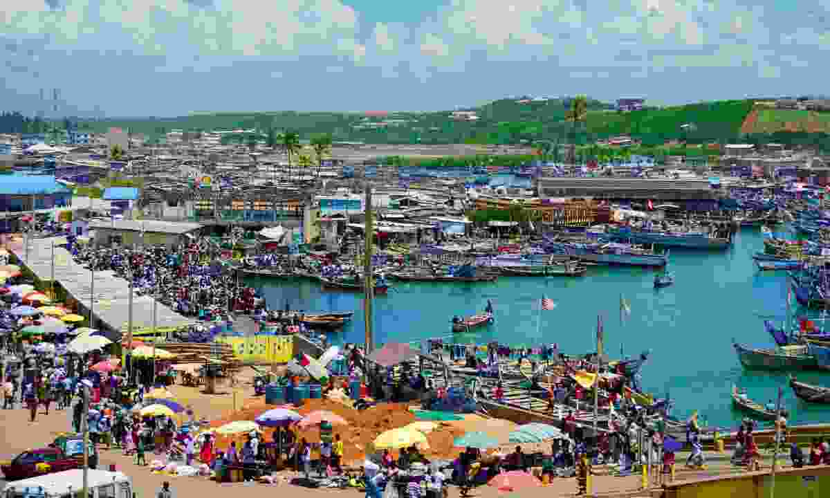 Elmina port (Dreamstime)
