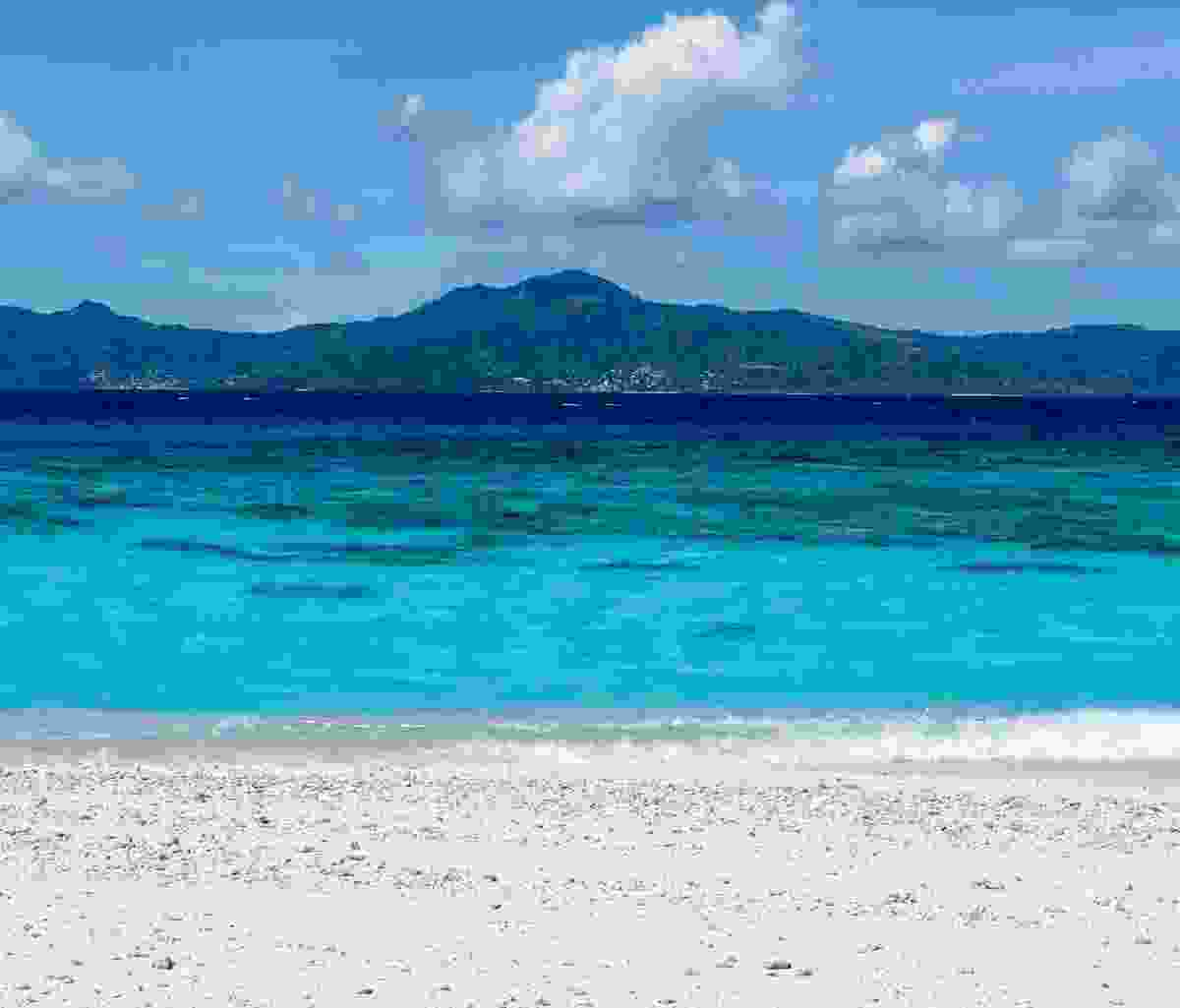 One of the pristine beaches of Mayotte (Dreamstime)