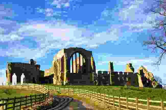 Neighbouring Egglestone Abbey in County Durham (Shutterstock)