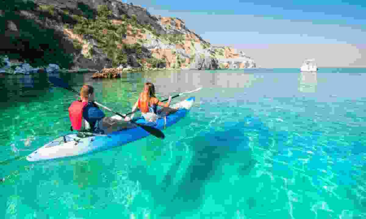 Sea kayaking in Kekova Bay (Explore)