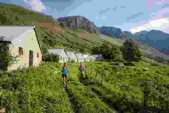 Slapnik shepherd settlement under Mt. Krn (Jošt Gantar)