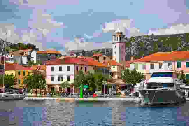 Skradin, the nearby town offering boat trips to Krka National Park (Dreamstime)