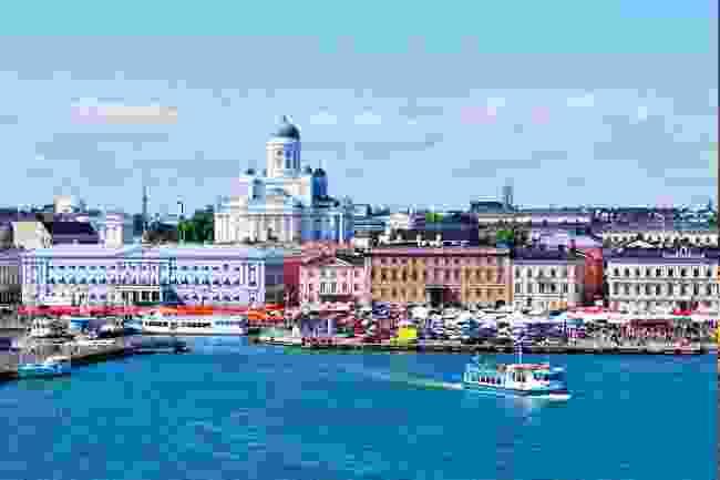 Helsinki's seaside market (Shutterstock)