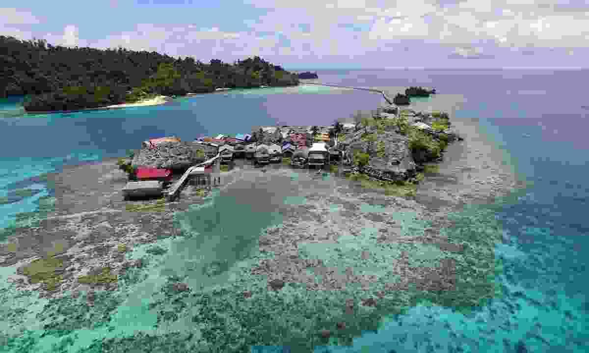 Togean Tojo Una-Una Biosphere Reserve, Indonesia (© UNESCO/Togean Togo Una-Una Biosphere Reserve)