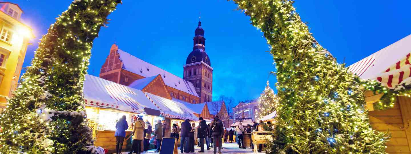 Christmas Market, Latvia (Dreamstime)