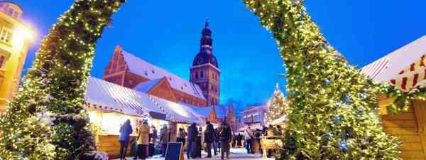 Christmas Market, Latvia (Dreamstime)