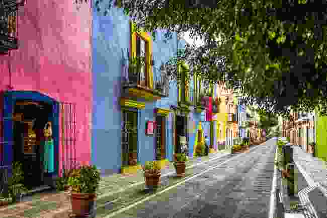 A street in Puebla, the Mexican state best known for its Cinco de Mayo celebrations (Shutterstock)