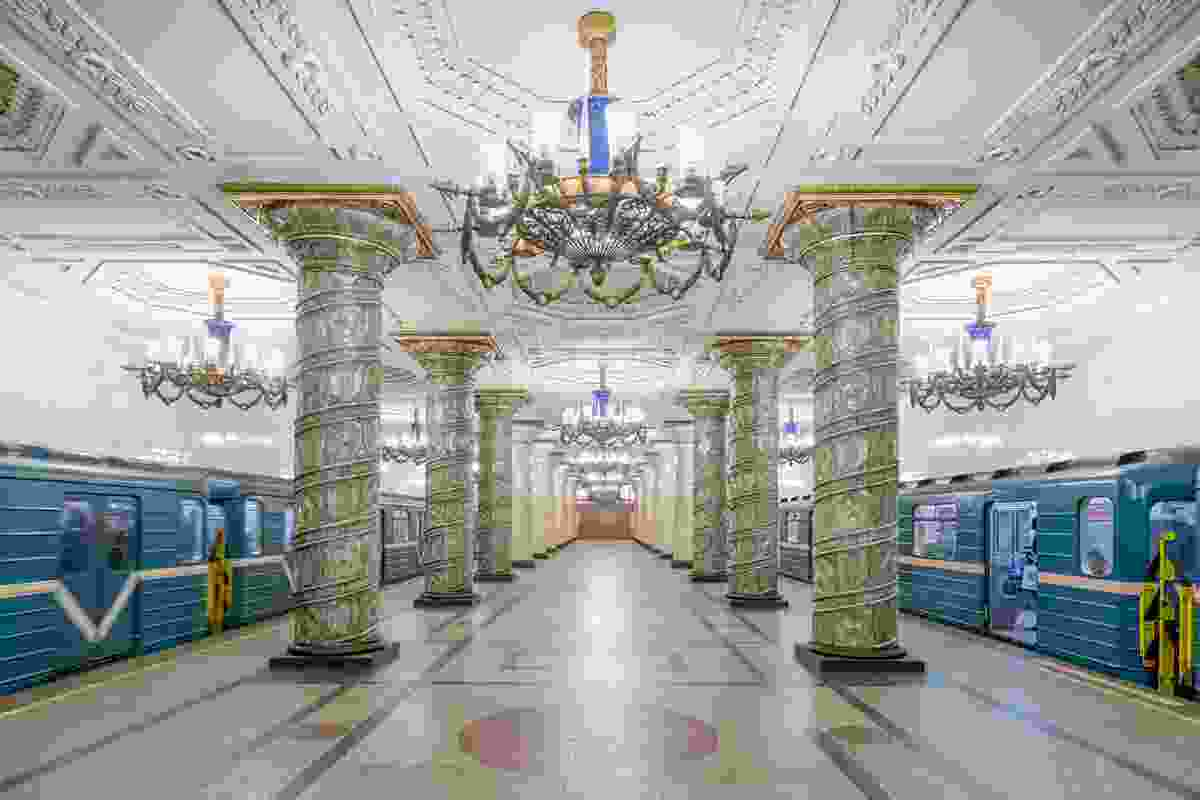 Avtovo Station on the St Petersburg Metro (Christopher Herwig)