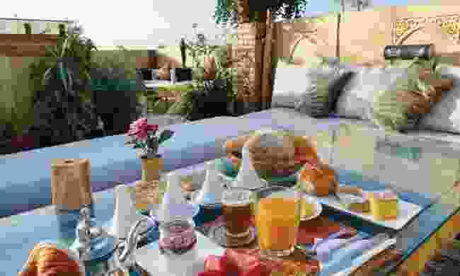 Breakfast at The Repose, Salé (Sarah Gilbert)