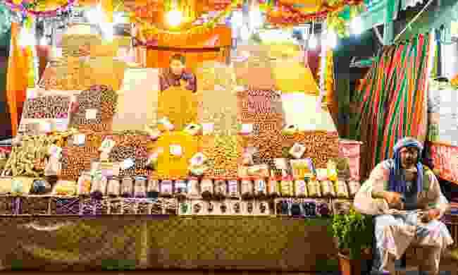 Wander around Jemaa el-Fnaa market square in Marrakech (Shutterstock)