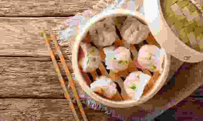 Chinese dumplings (Shutterstock)