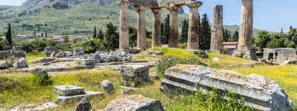 Ancient sites in Greece