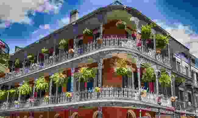 The French Quarter in New Orleans (Shutterstock)