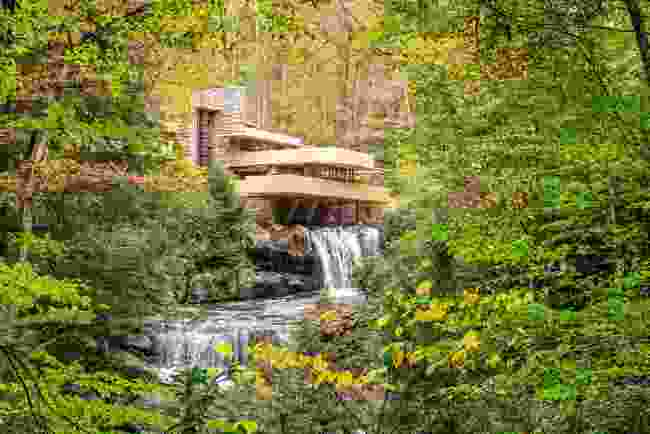 Fallingwater at Mill Run, Pennsylvania, USA (Shutterstock)