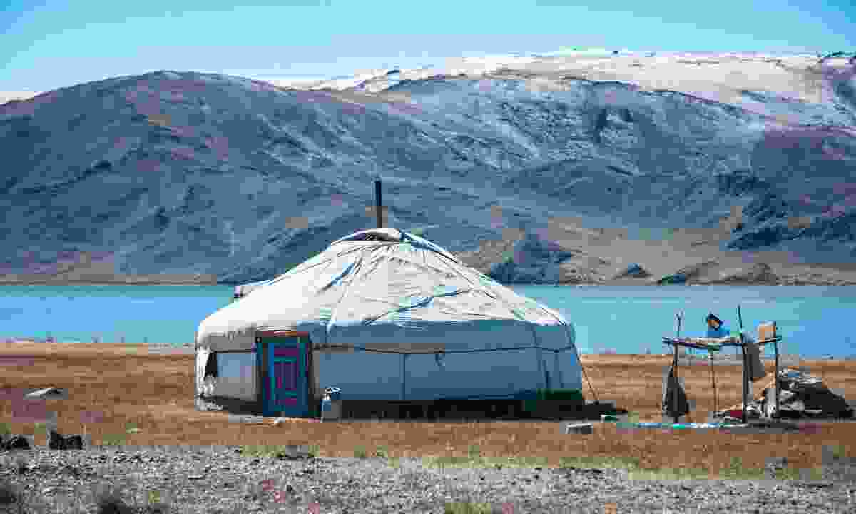 Become part of the community by staying in a ger with Mongolian Nomads (Shutterstock)