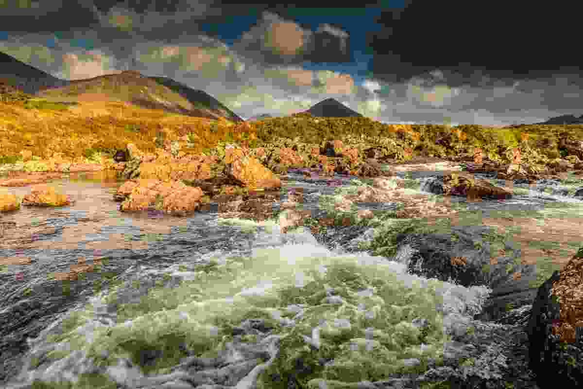 Rushing river on the Isle of Skye (Chris Orange)