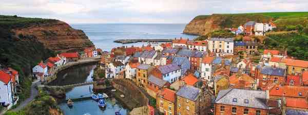 Staithes Port, North York Moors National Park (Shutterstock)