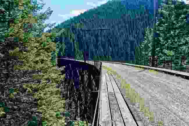 Route of the Hiawatha, Idaho (Shutterstock)