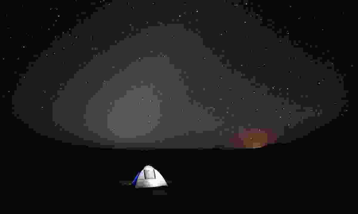 Camping under the stars (Oman Tourist Board)