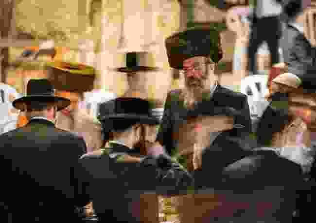 The thinker: Jewish Quarter, Jerusalem (Thomas Kast)