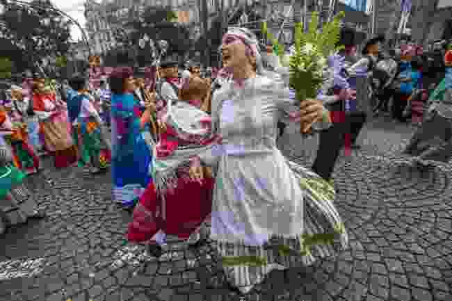 St John's festival in Porto, Portugal (Shutterstock)