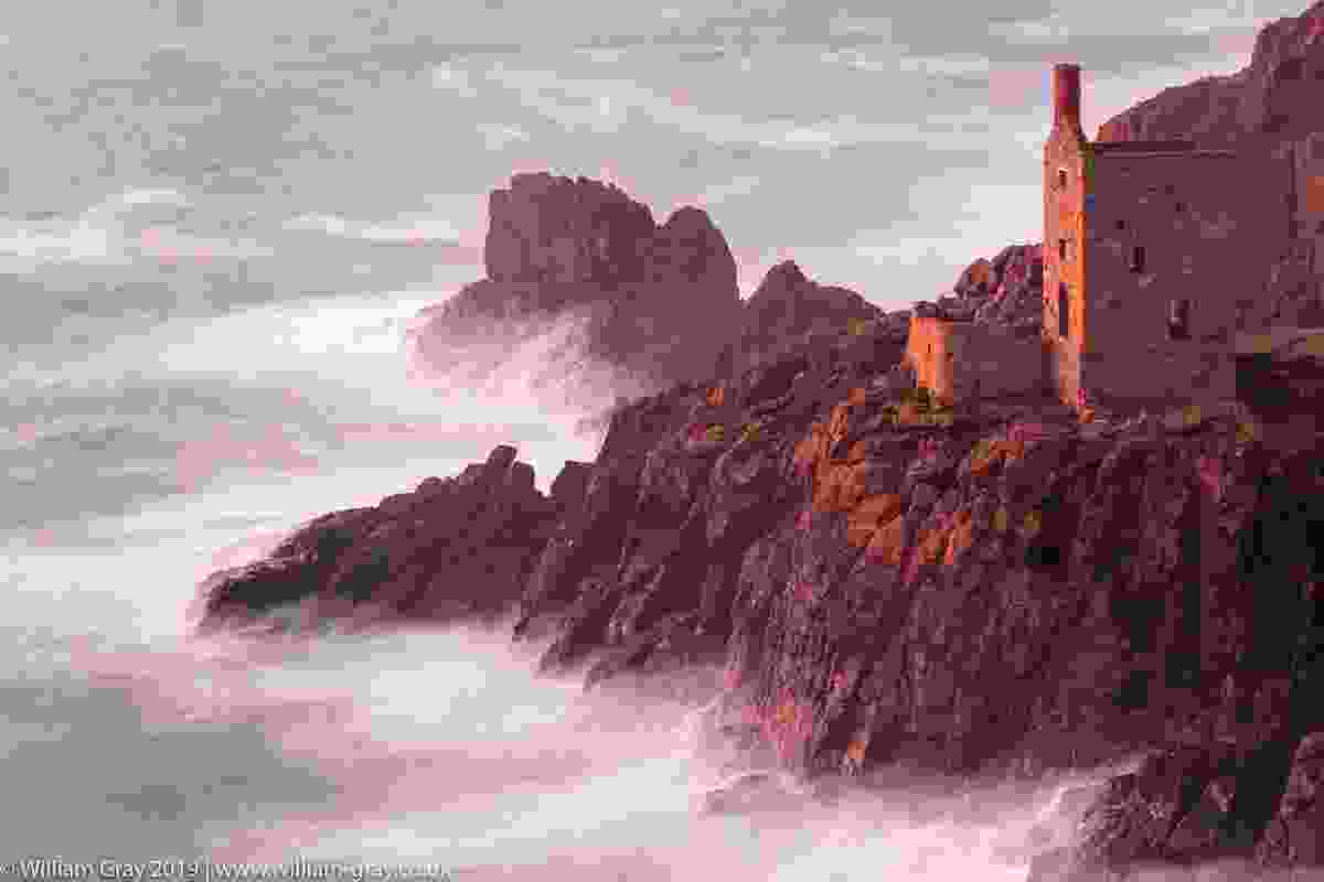 Botallack mine on the West Cornwall coast (William Gray)