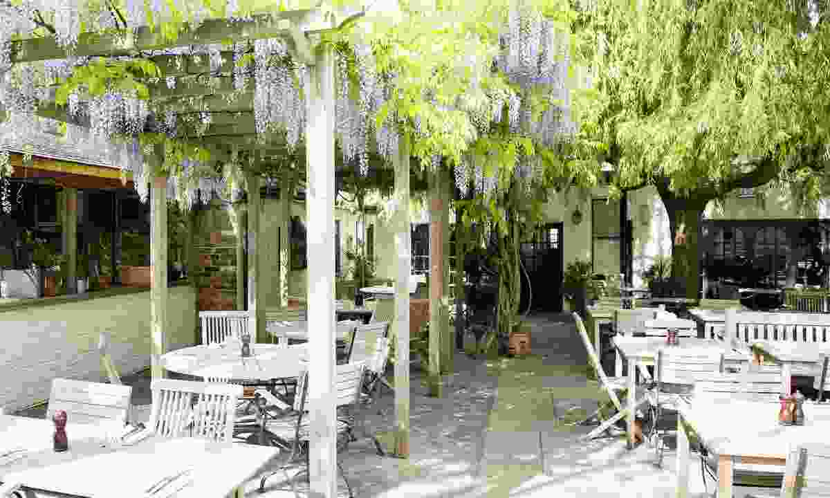 The enchanting courtyard of The Albion in Islington (The Albion)
