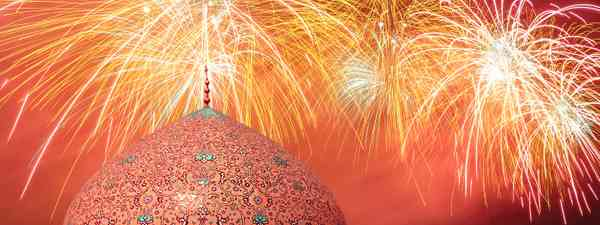 Fireworks in Iran (Shutterstock)