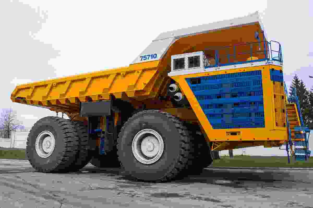 The BelAZ 75710 in all its heavy machine glory (Shutterstock)