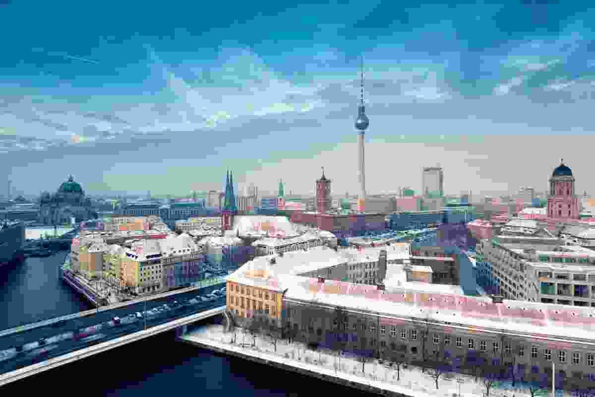 Berlin skyline in winter (Dreamstime)