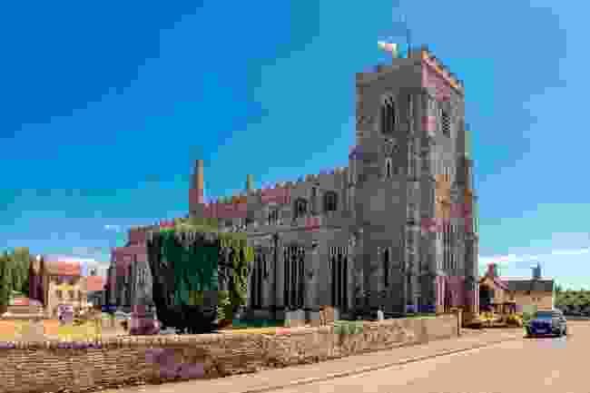 The church in Clare, Suffolk (Shutterstock)