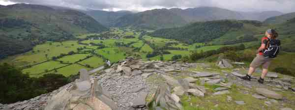 Looking over Borrowdale (Phoebe Smith)
