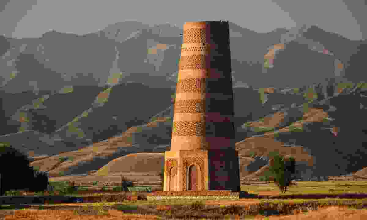 Old Burana tower, Kyrgyzstan (Dreamstime)