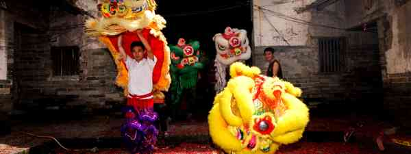 Chinese Lion Dance (Dreamstime)