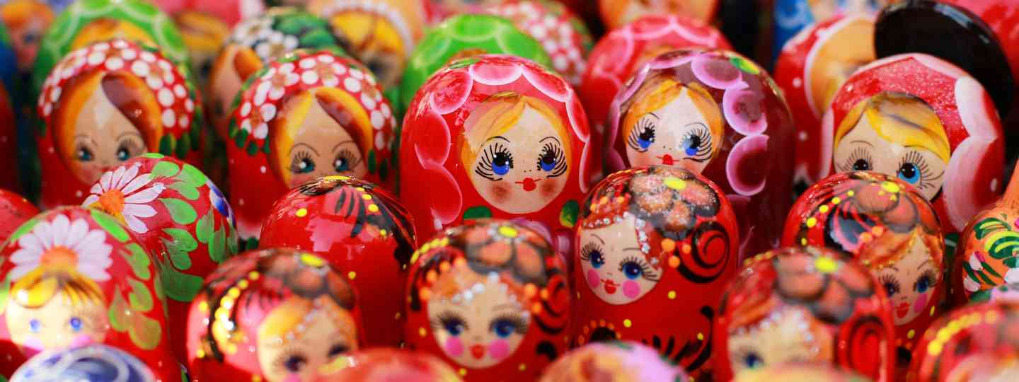 Russian dolls (Dreamstime)