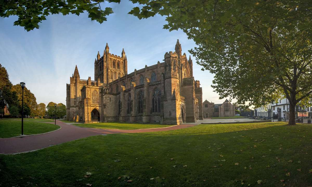 Hereford Cathedral (Dreamstime)