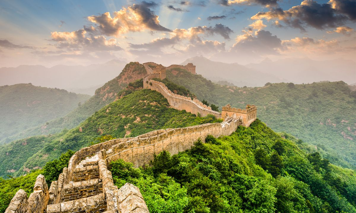 The Great Wall of China - a section near Jinshanling (Dreamstime)