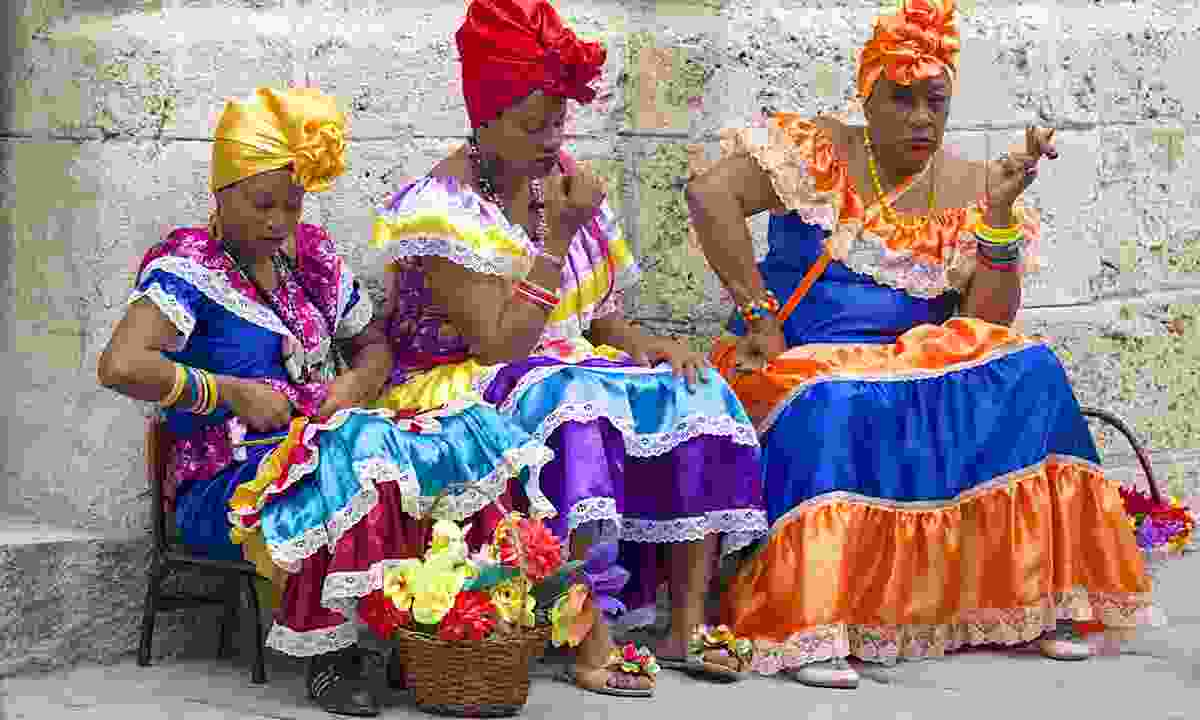 Getting ready to party in Havana (Dreamstime)