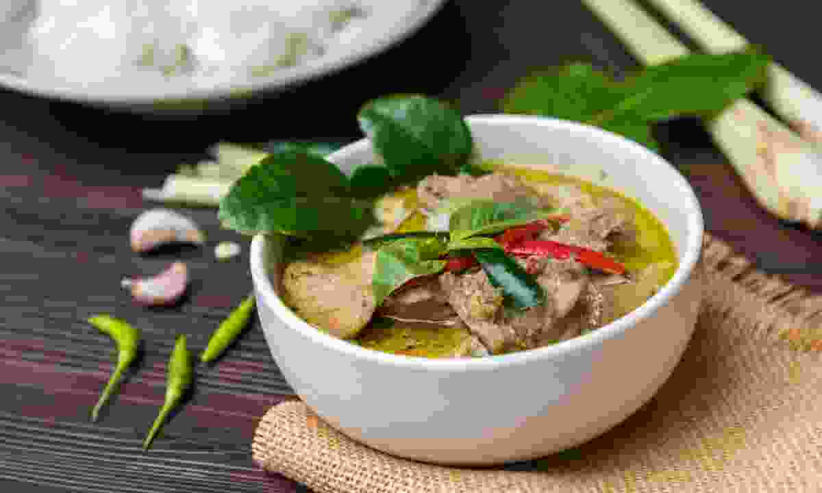 Thai green curry (Shutterstock)