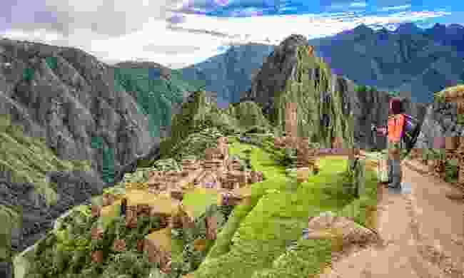 Trekking to Machu Picchu (Shutterstock)